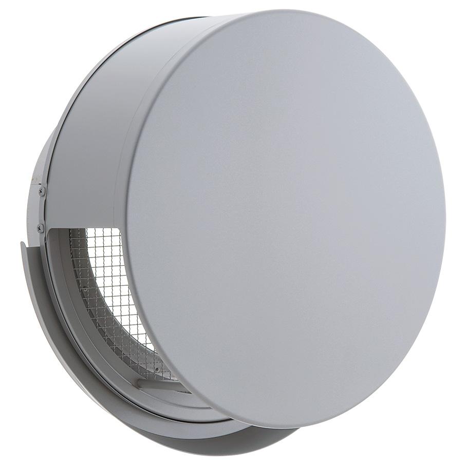 ユニックス 屋外用製品 ステンレス製 グリル 外風対策 BSW250SCR3M (大口径) 丸型フラットカバー付 3メッシュ
