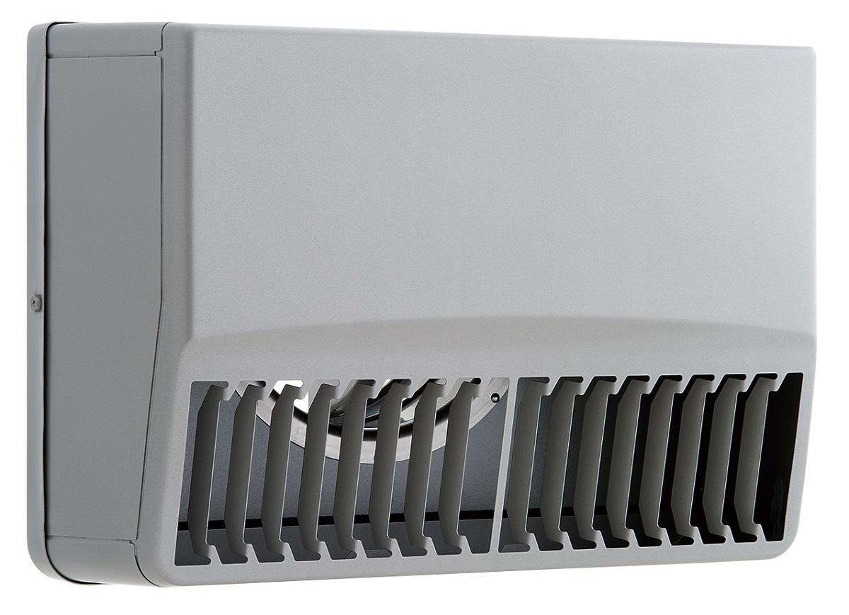 ユニックス 屋外用製品 ステンレス製 グリル 外風対策 SBCG125ARDSP 角型カバー 縦ガラリ 右吹き 防火ダンパー 72度型
