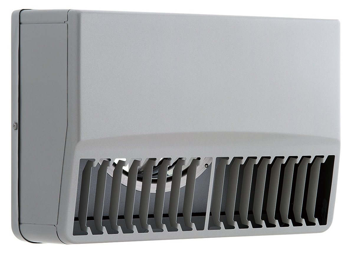 ユニックス 屋外用製品 ステンレス製 グリル 外風対策 SBCG150ARDSQ 角型カバー 縦ガラリ 右吹き 防火ダンパー 120度型