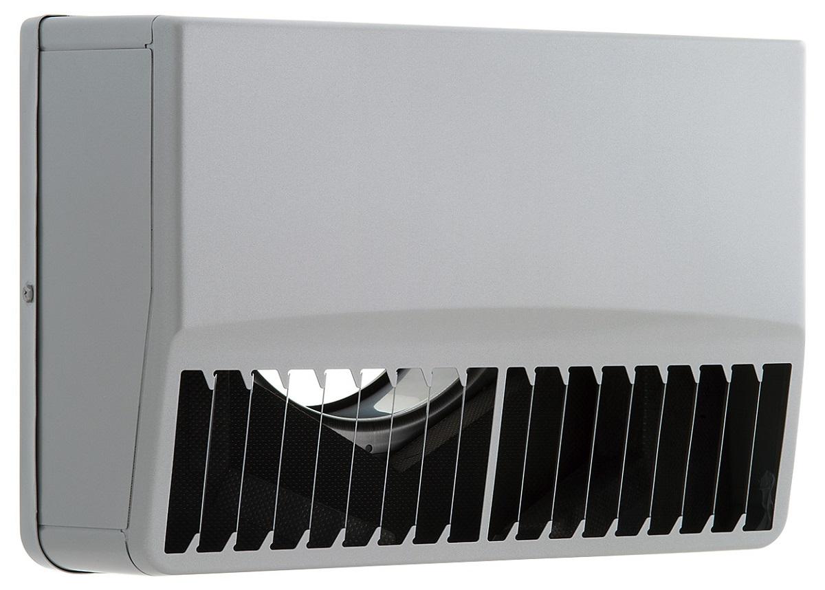 ユニックス 防音製品 ステンレス製 ベントキャップ SSCG100BL 角型防音カバー (外風対策) 縦ガラリ 左吹き 網無し