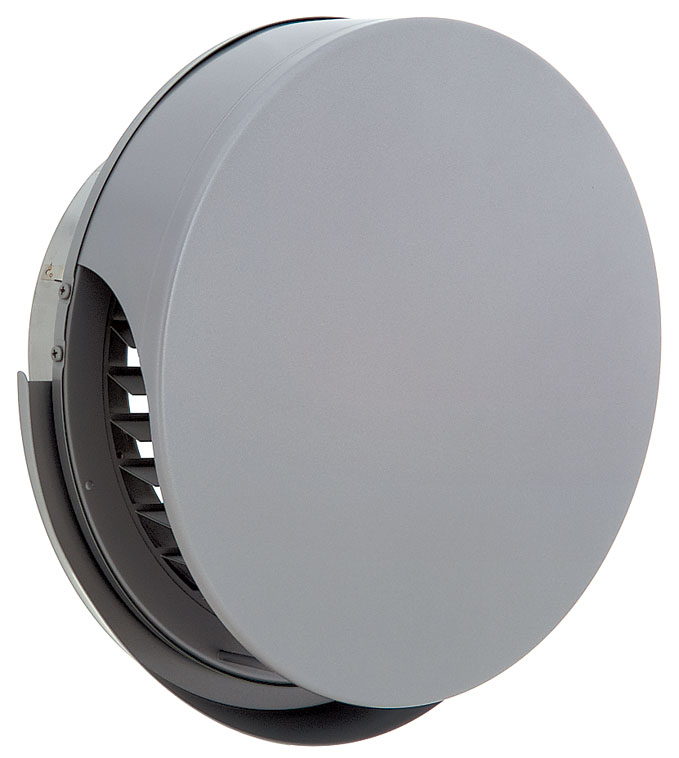 ユニックス 屋外用製品 ステンレス製 グリル 外風対策 BSG250SBR 丸型フラットカバー付 横ガラリ