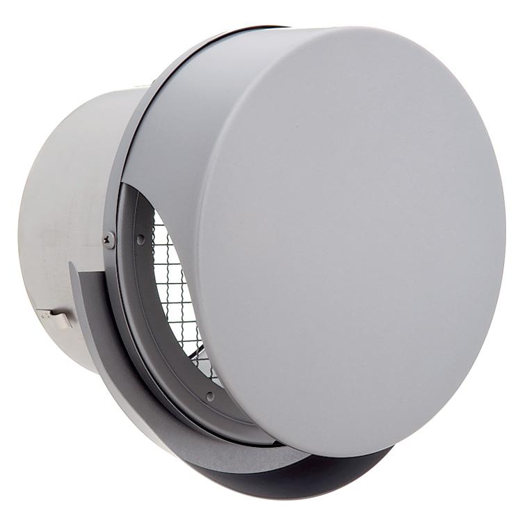 ユニックス 屋外用製品 ステンレス製 グリル 外風対策 BSW150SBR3M 丸型フラットカバー付 メッシュ