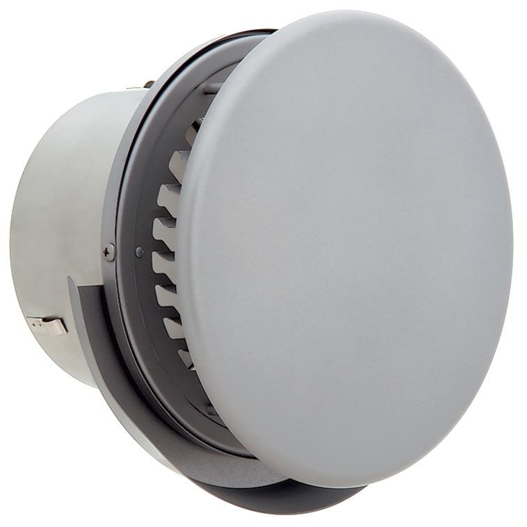 ユニックス 屋外用製品 ステンレス製 グリル 外風対策 BSG150ABRDSP/SQ 丸型フラット板付 横ガラリ 防火ダンパー