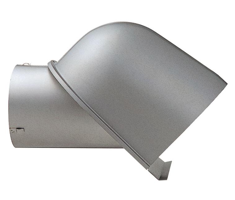 ユニックス 屋外用製品 ステンレス製 セットバック用 (受注生産) FSG100SN フード 横ガラリ 差込式(可動式)