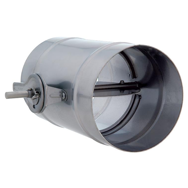 ユニックス ダンパー製品 風量調節ダンパー ステンレス製 (受注生産) VD100C-SUS ダクト接続用