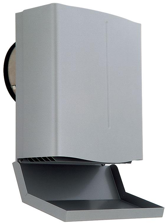 ユニックス 防音製品 ステンレス製 ベントキャップ (受注生産) SSFG100BTK 防音フード 横ガラリ