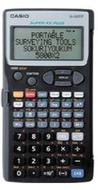 YAMAYO ヤマヨ S5800X2 測量電卓NEWスタンダード 即利用くん
