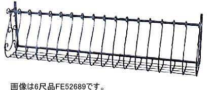 ニチハ フラワーボックストレセ FE52689 6尺(1868mm) エレヒュームブラック 1セット 【ヨーロピアンウォールアクセサリー】