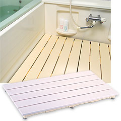 ヤザキ(個人宅配送不可) エコボードすのこ 浴室用すのこ 600mm×700mm CWB ピンク/アイボリー