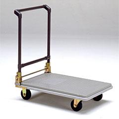 ヤザキ(個人宅配送不可) 運搬用台車 ポリトラー(折りたたみ式) N-450