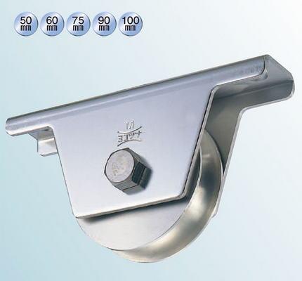 ヨコヅナ JBS-0901 ステンレス重量戸車 90 溝R (2個入)