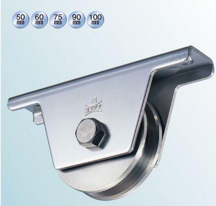 ヨコヅナ JBS-0906 ステンレス重量戸車 90 兼用 (2個入)