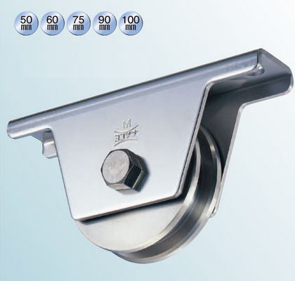 ヨコヅナ JCS-0606 440Cベアリング入ステンレス重量戸車 60 兼用 (2個入)