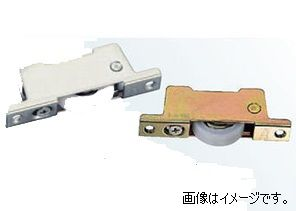 ヨコヅナ TBM-0282 調整戸車14型鉄枠BRG入ステンレス車 28 平 (10個入)