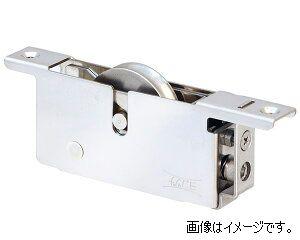 ヨコヅナ TBS-Y422 中型重量横調整戸車 19型ST枠BRG入ステン車 42 平 (4個入)