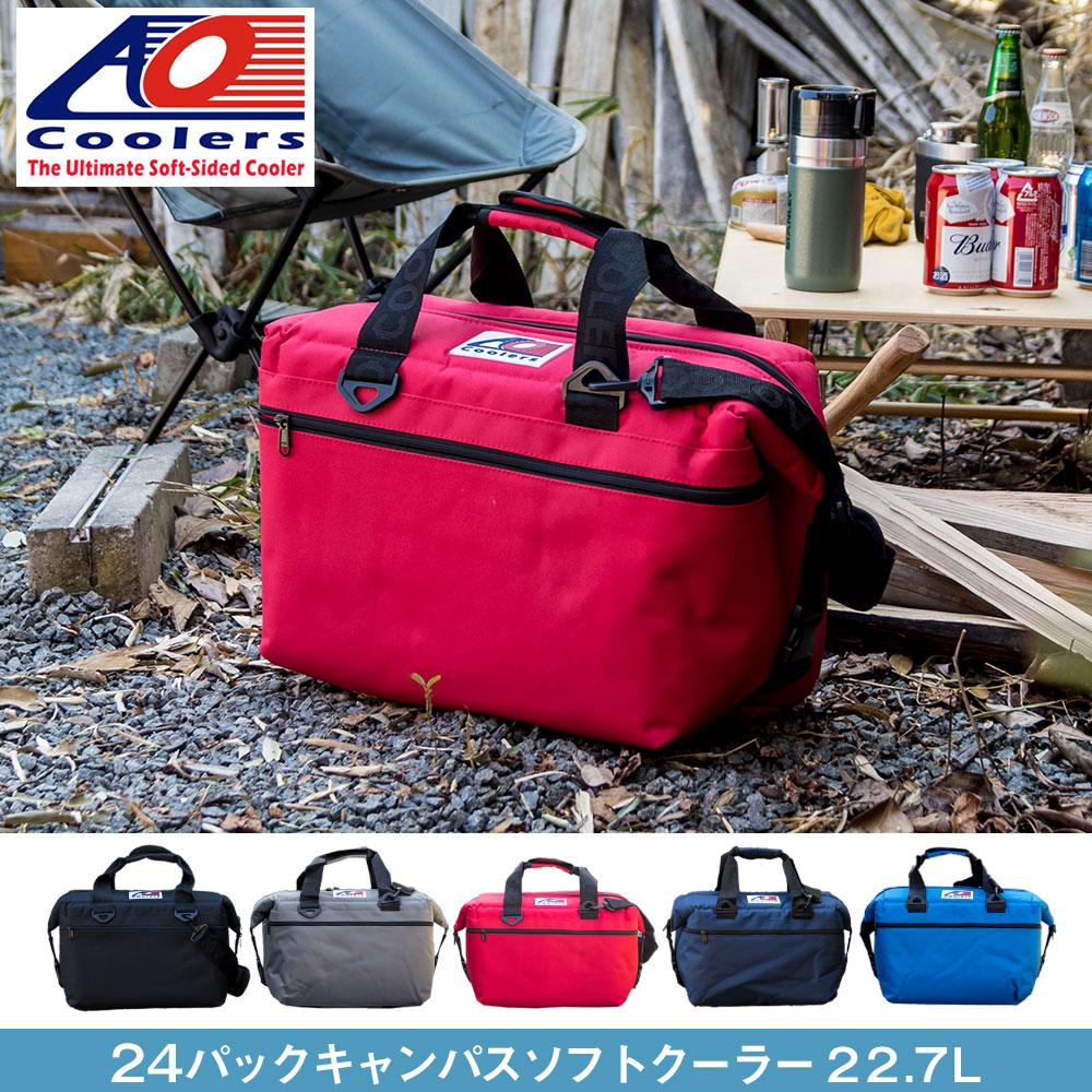 AOクーラーズ AO coolers エーオークーラーズ 24パック キャンバス ソフトクーラーバッグ クーラーボックス 24缶用 22.7L