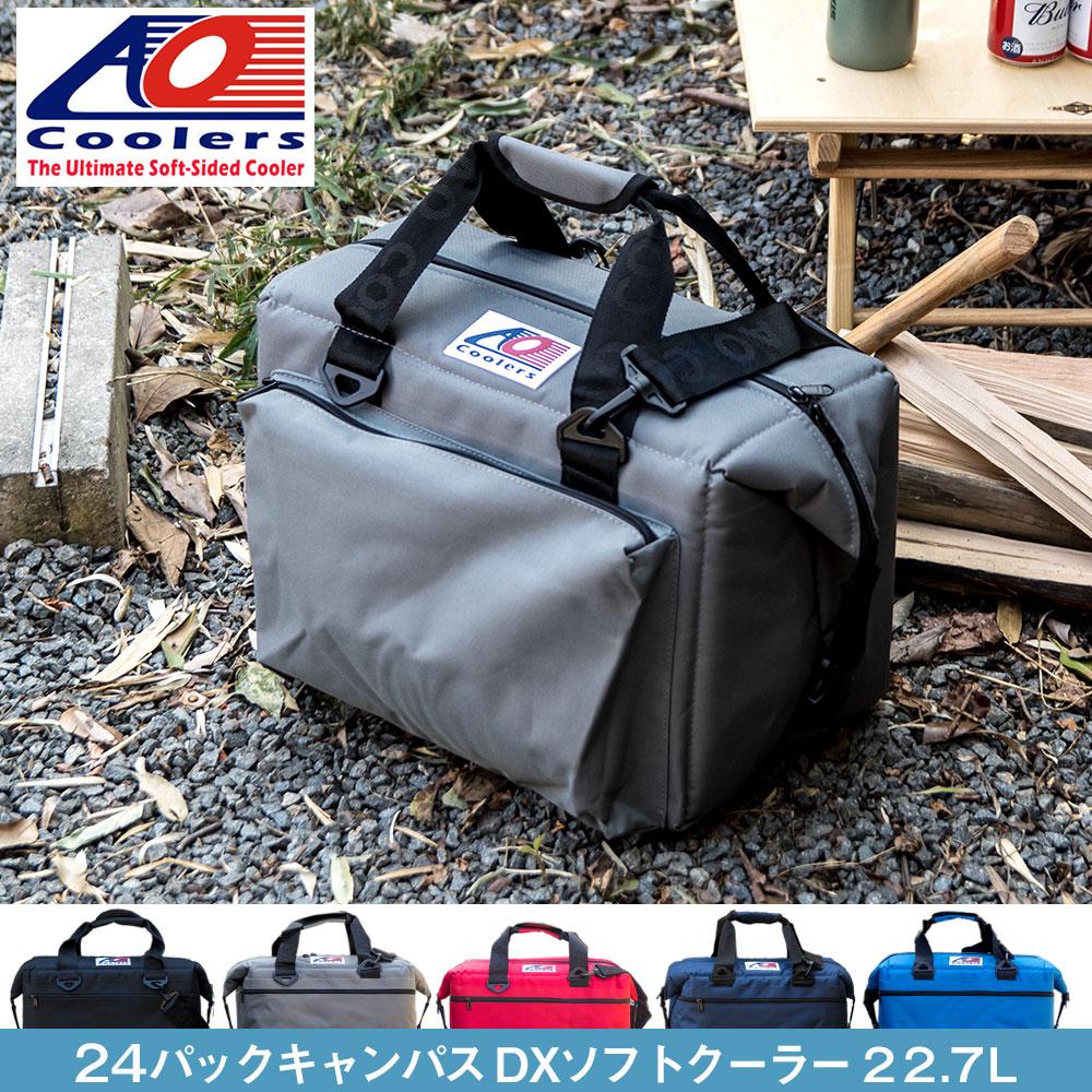 AOクーラーズ AO coolers エーオークーラーズ 24パック キャンバス デラックス ソフトクーラーバッグ クーラーボックス 24缶用 22.7L カラー