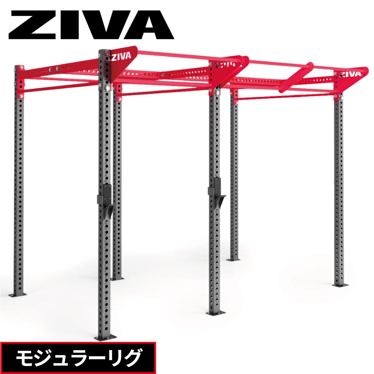 パワーラック モジュラーリグ ZIVA ジーヴァ ウエイトトレーニング 筋力トレーニング フリーウエイト ボックスタイプ ホームジム パワーケージ セーフティアーム 業務用 家庭用