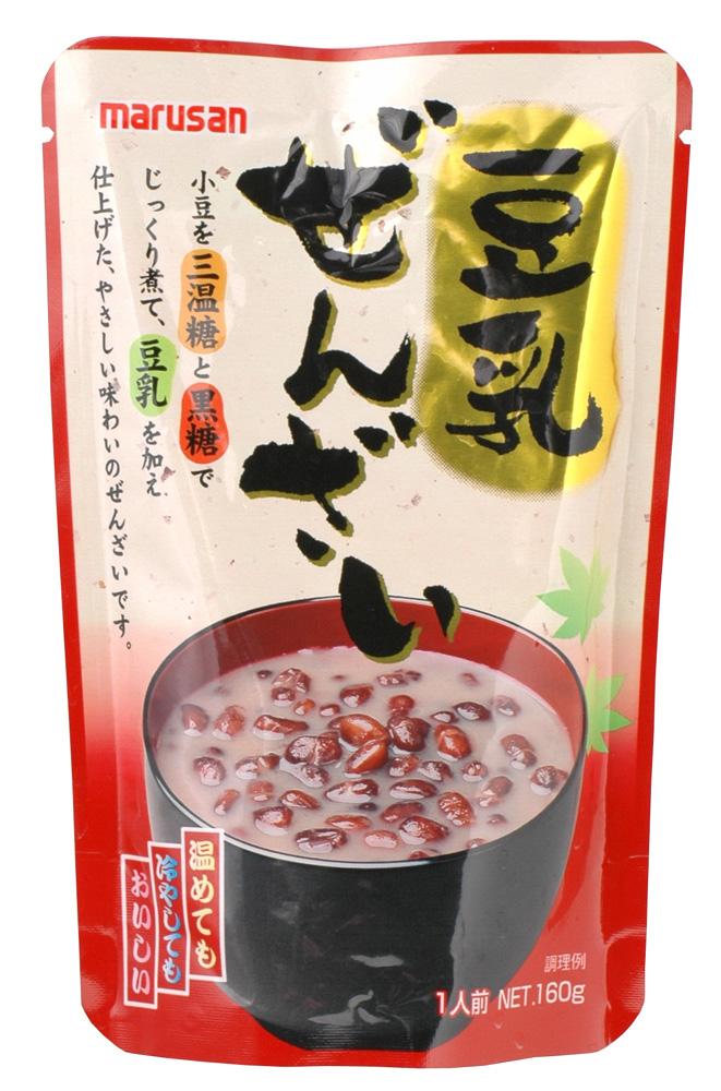 (マルサン)豆乳ぜんざい 160g 【ご注文合計7700円以上(税込)で送料無料】【RCP】|s60