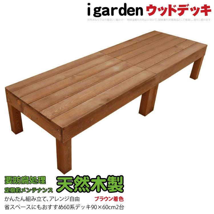人工木より強いウリン! ウッドデッキてすり 横板ウリン2200 【日本製】