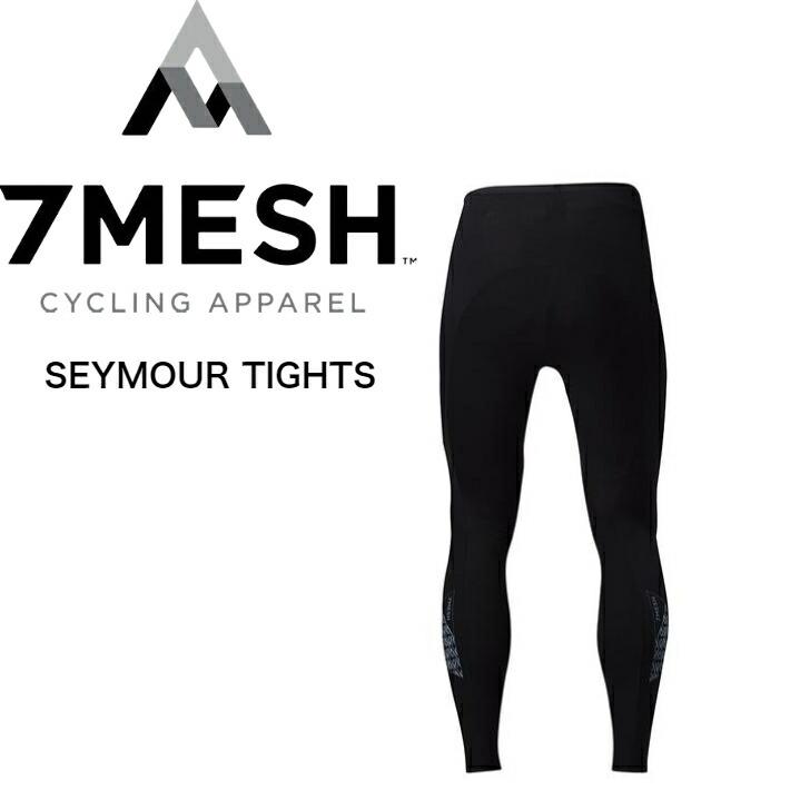 薄型のオーバーロックシームによりコンパクトに収納することが可能 OUTLET SALE アウトレット セール アウトドア タウン セブンメッシュ 送料無料 TIGHTS 7MESH 自転車 本店 SEYMOUR NEW パンツ メンズ