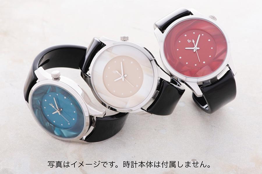 f08a7d4f28 鯖江産バングルウォッチIGATTACOLLETTIメンズ[モザイクブルー]腕時計 カラーバリエーション ブルーモザイク ホワイトモザイク
