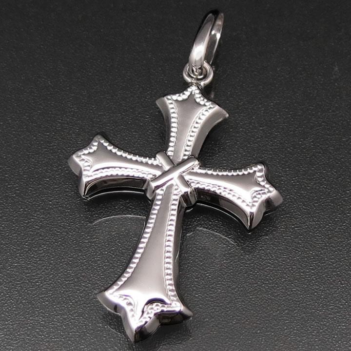 クロス(十字架) ネックレス トップ ペンダントヘッド レディース メンズ プラチナ850 PT850 トップのみ(チェーンなし) 【送料無料】