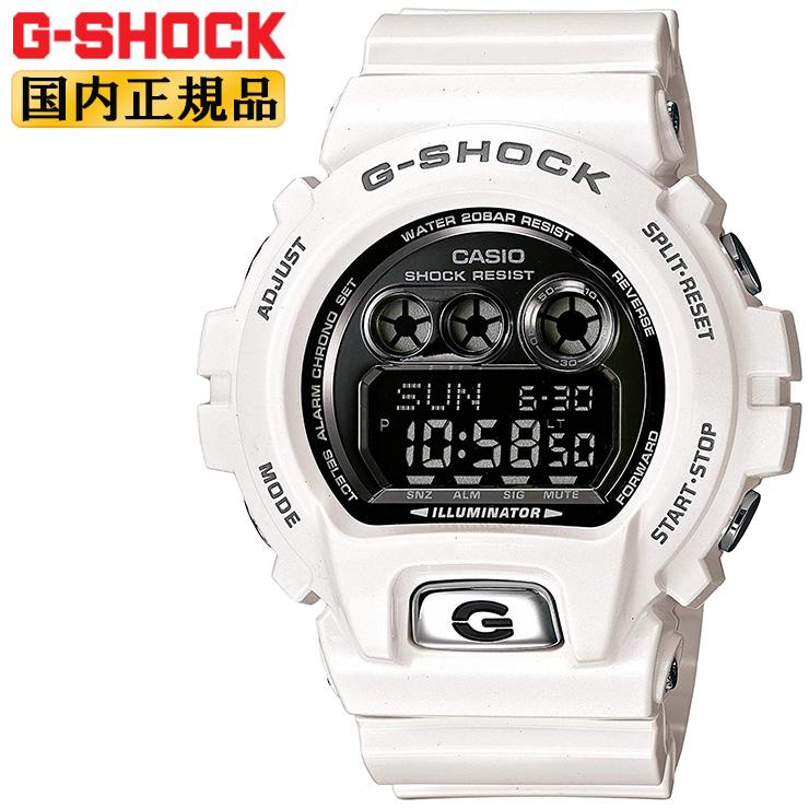 G-SHOCK 腕時計 Gショック カシオ CASIO GD-X6900FB-7JF  迫力のあるビックフェイス ホワイト 10年バッテリー 10年電池 メンズ 【あす楽】【在庫あり】