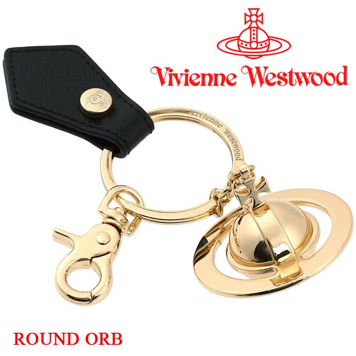 ヴィヴィアン キーホルダー ヴィヴィアンウエストウッド Vivienne Westwood ウエストウッド BLACK 安全 あす楽 送料無料 82030010 キーリング 開店祝い