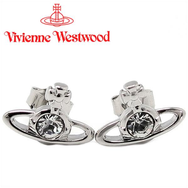 ヴィヴィアンウエストウッド ピアス Vivienne Westwood ヴィヴィアン ナノソリティアピアス シルバー(旧タイプ) 【あす楽】【送料無料】