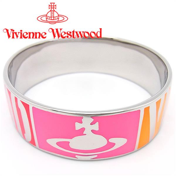 ヴィヴィアンウエストウッド ブレスレット Vivienne Westwood ヴィヴィアン WESTWOODバングル ブレスレット ピンク