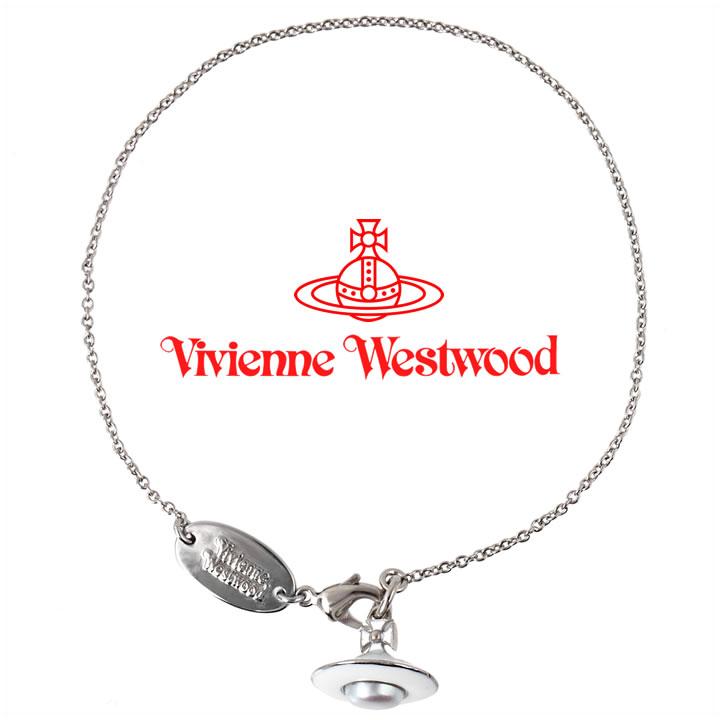 ヴィヴィアンウエストウッド ブレスレット Vivienne Westwood ヴィヴィアン ブランシェブレスレット シルバー×ホワイト 【あす楽】【送料無料】