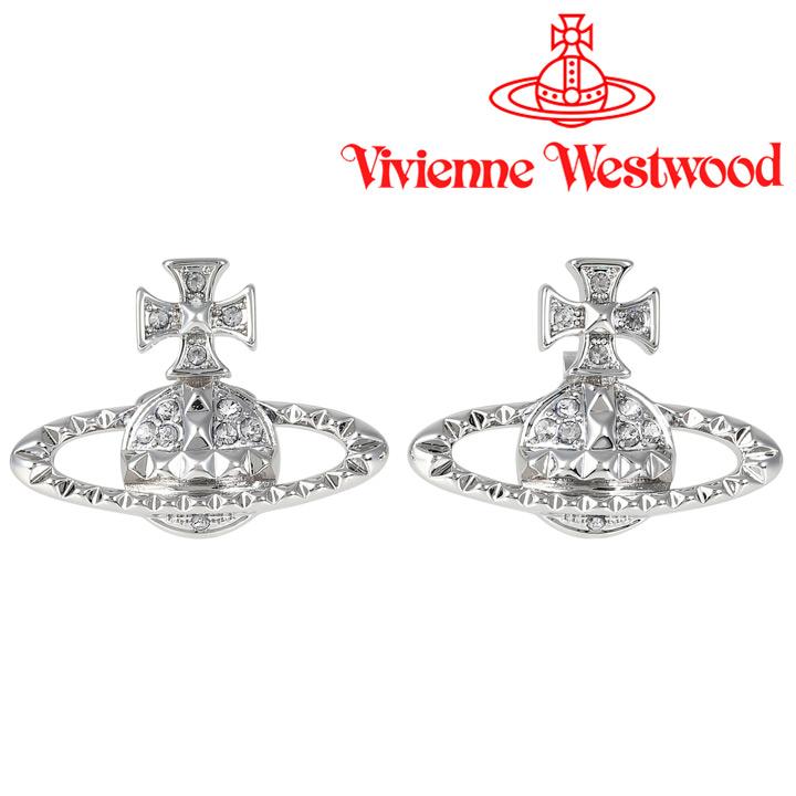 Vivienne Westwood Earrings Vivian Mayfair B Reliefs Silver