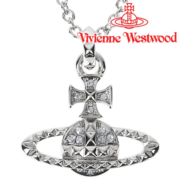 ヴィヴィアンウエストウッド ネックレス Vivienne Westwood ヴィヴィアン メイフェアバスレリーフペンダント シルバー 63020052-W110(MT12628/2) 【お取り寄せ】【送料無料】