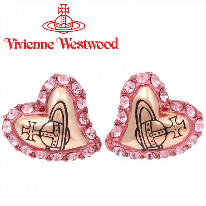 ヴィヴィアンウエストウッド Vivienne Westwood ピアス ヴィヴィアン ジータピアス ライトローズ【あす楽】【送料無料】
