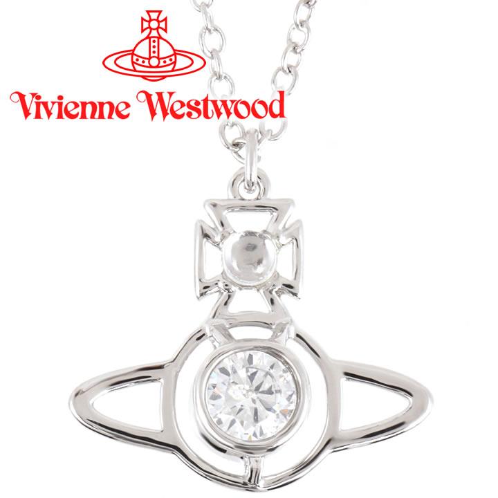 ヴィヴィアンウエストウッド ネックレス Vivienne Westwood ヴィヴィアン ノーラペンダント シルバー 752030B/1 【お取り寄せ】【送料無料】