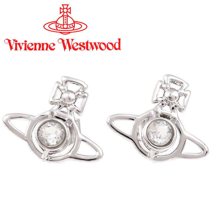 ヴィヴィアンウエストウッド ピアス Vivienne Westwood ヴィヴィアン ノーラピアス シルバー 724399B/1 【あす楽】【送料無料】