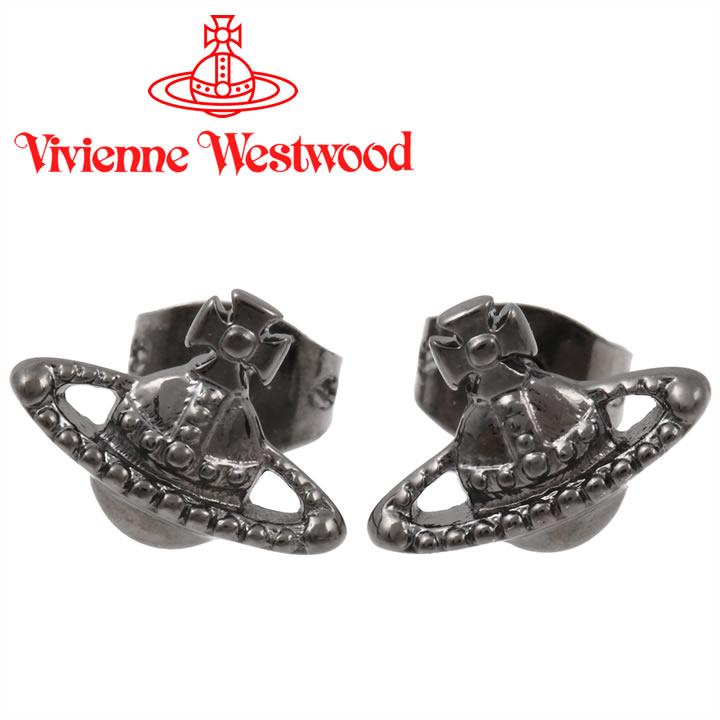 ヴィヴィアンウエストウッド ピアス Vivienne Westwood ヴィヴィアン ファラーピアス ガンメタル 62010015-S001(BE787/2) 【あす楽】【送料無料】