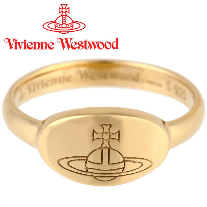 ヴィヴィアンウエストウッド リング 指輪 Vivienne Westwood ヴィヴィアン ティリーリング ゴールド