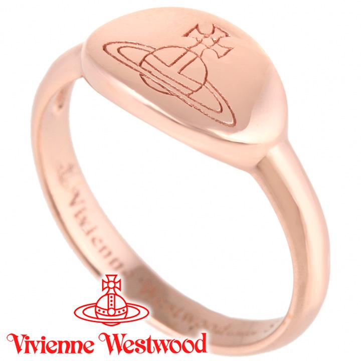 ヴィヴィアンウエストウッド リング 指輪 Vivienne Westwood ヴィヴィアン ティリーリング ピンクゴールド