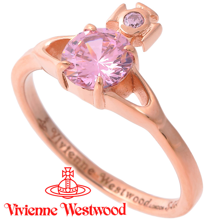 ヴィヴィアンウエストウッド リング 指輪 レディース Vivienne Westwood ヴィヴィアン レイナプチリング ピンクゴールド SR1402/3 【あす楽】【送料無料】