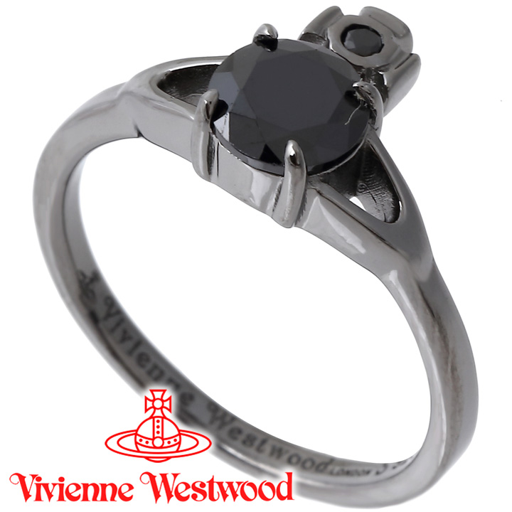 ヴィヴィアンウエストウッド リング 指輪 レディース Vivienne Westwood ヴィヴィアン レイナプチリング ガンメタル SR1402/4 【あす楽】【送料無料】