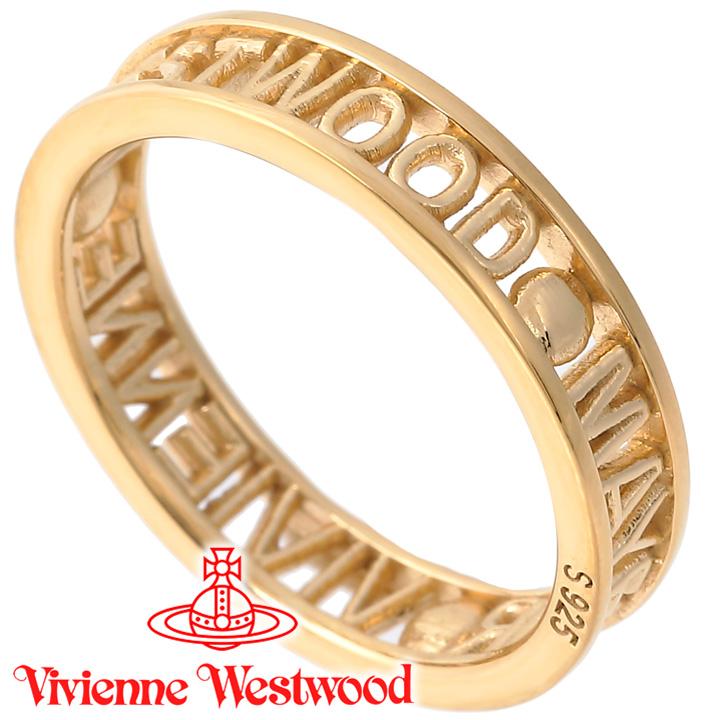 送料無料/新品 ヴィヴィアンウエストウッド リング ヴィヴィアン 指輪 Vivienne Westwood 至高 ウエストウッド スーパーSALEポイントアップ あす楽 64040016-R001 レディース 1 SR1212 ゴールド 送料無料 ウエストミンスターリング