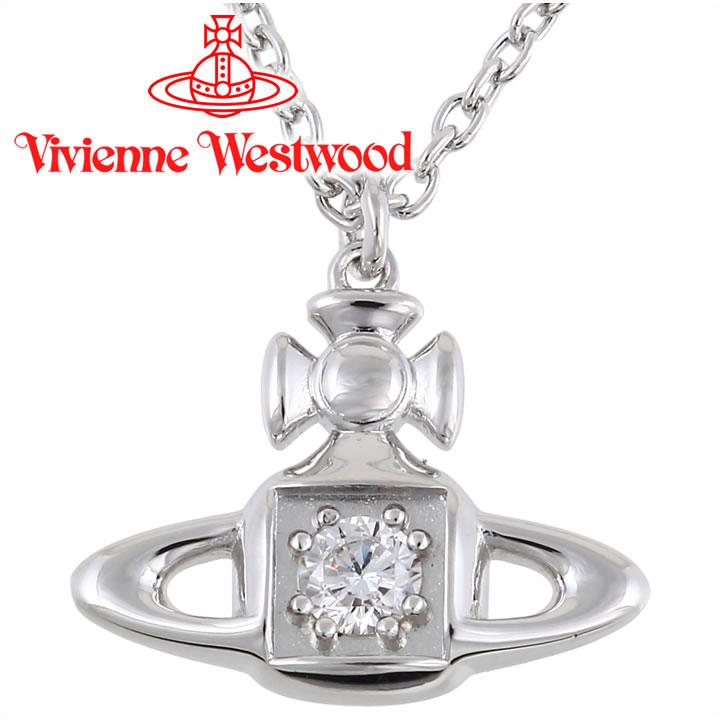ヴィヴィアンウエストウッド ネックレス レディース Vivienne Westwood ヴィヴィアン マシルドペンダント シルバー BP624966/1 【あす楽】【送料無料】