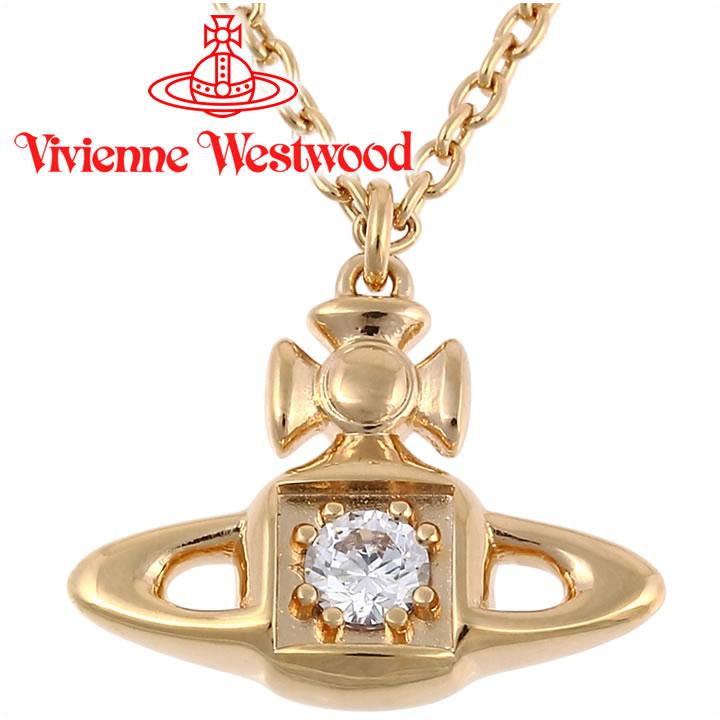 ヴィヴィアンウエストウッド ネックレス レディース Vivienne Westwood ヴィヴィアン マシルドペンダント ゴールド BP624966/2 【あす楽】【送料無料】