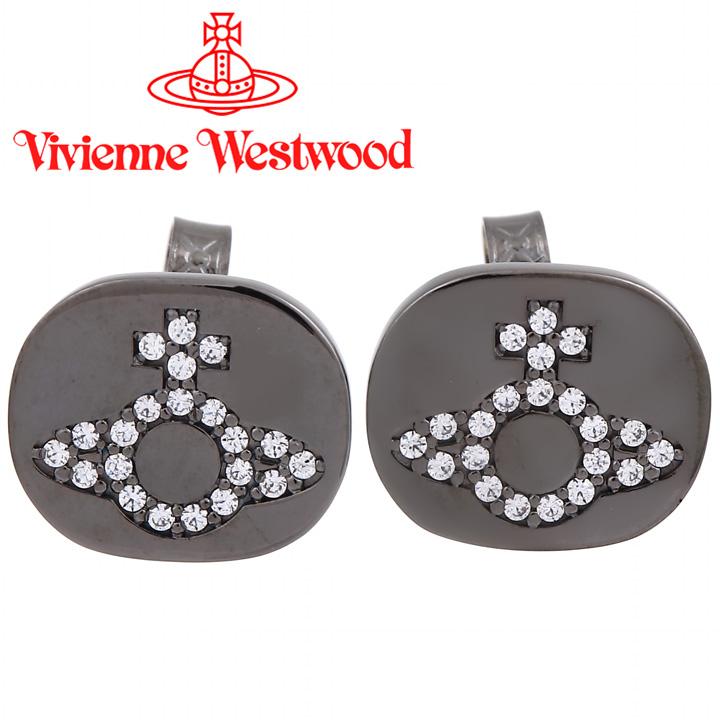 ヴィヴィアンウエストウッド ピアス メンズ レディース Vivienne Westwood ヴィヴィアン ミラノピアス ガンメタル BE625959/4 【あす楽】【送料無料】【在庫限り】
