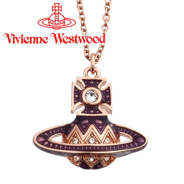ヴィヴィアンウエストウッド ネックレス レディース Vivienne Westwood ヴィヴィアン アレサスモールバスレリーフペンダント ピンクゴールド 63020193-G155 【あす楽】【送料無料】