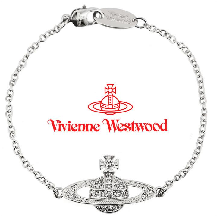 ヴィヴィアンウエストウッド ブレスレット Vivienne Westwood ヴィヴィアン ミニバスレリーフブレスレット シルバー 61020051-W110(741456B/1) 【あす楽】【送料無料】