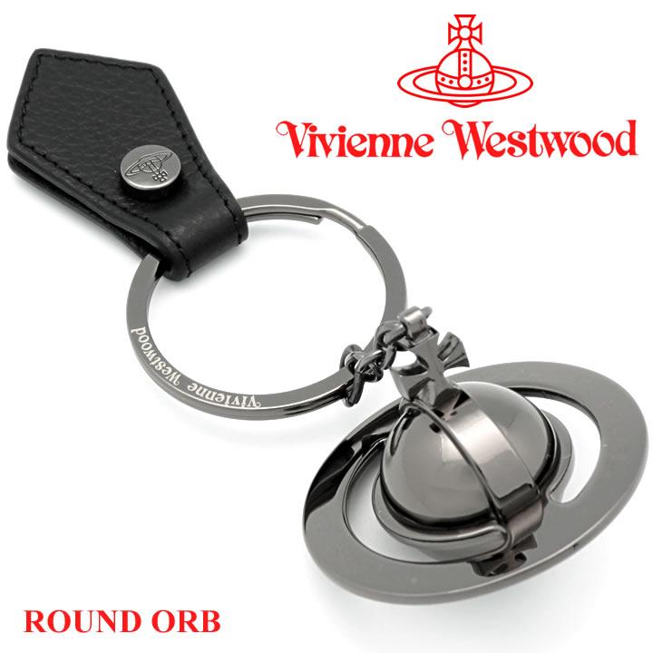 ヴィヴィアンウエストウッド キーホルダー キーリング メンズ レディース Vivienne Westwood 82030011 BLACK (321633) 【お取り寄せ】【送料無料】