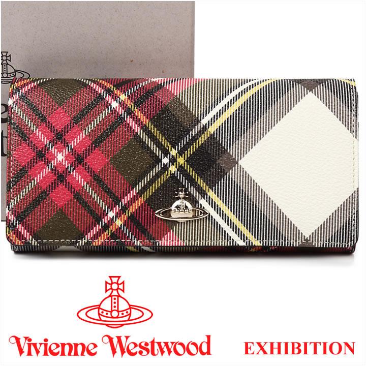 ヴィヴィアンウエストウッド 財布 ヴィヴィアン レディース メンズ Vivienne Westwood 長財布 51060025 EXHIBITION 【送料無料】